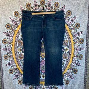 Old Navy The Diva dark wash jeans
